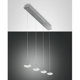 Fabas Luce HALE Pendant Light LED aluminium, 4-light sources