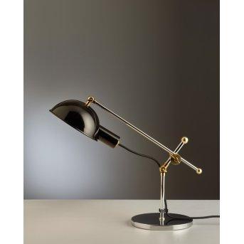 Tecnolumen SF 27 Desk light chrome, brass, 1-light source