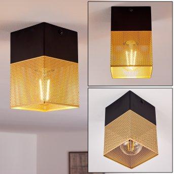 ARMENIE Pendant Light brass, black, 1-light source