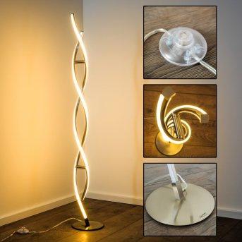 Paul Neuhaus POLINA floor lamp LED stainless steel, 2-light sources