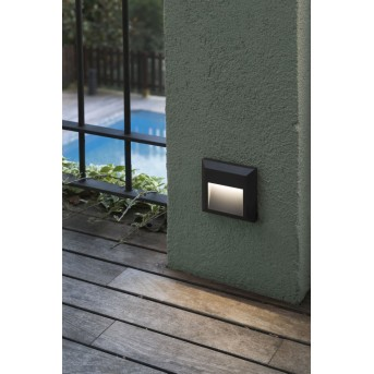 Faro Grant outdoor wall light LED anthracite, 1-light source
