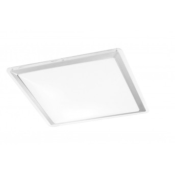 Leuchten-Direkt LABOL ceiling light LED stainless steel, 1-light source