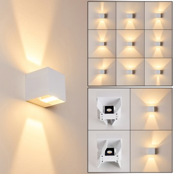 FAUDERUP Outdoor Wall Light LED white, 2-light sources