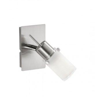 Leuchten Direkt MAX LED Wall Light stainless steel, 1-light source