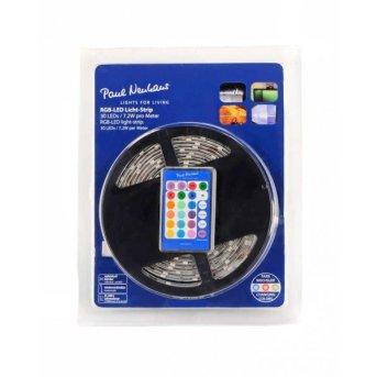 Paul Neuhaus TEANIA Light strips LED colourful, 300-light sources, Remote control, Colour changer