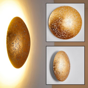 Tandil Wall Light LED gold, 1-light source