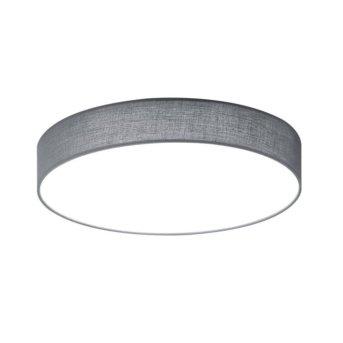 Trio LUGANO ceiling light LED grey, 1-light source