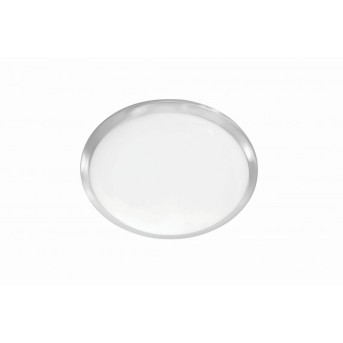 Leuchten-Direkt SATOB ceiling light LED stainless steel, 1-light source