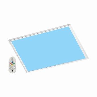 Eglo SALOBRENA-C panel light LED white, 1-light source, Remote control, Colour changer