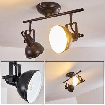 Tina Ceiling Light black, 2-light sources