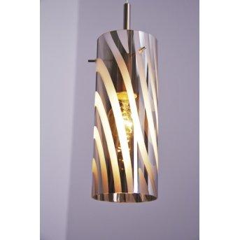 Wofi COLLAGE pendant light matt nickel, 1-light source
