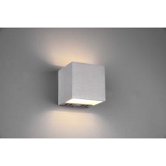 Trio FIGO Wall Light LED aluminium, 1-light source, Remote control, Colour changer