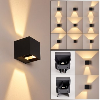 FAUDERUP Outdoor Wall Light LED anthracite, 2-light sources
