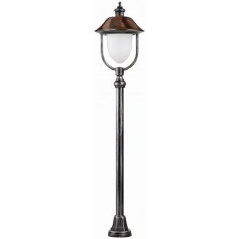 Lcd Rendsburg floor lamp black, copper, 1-light source