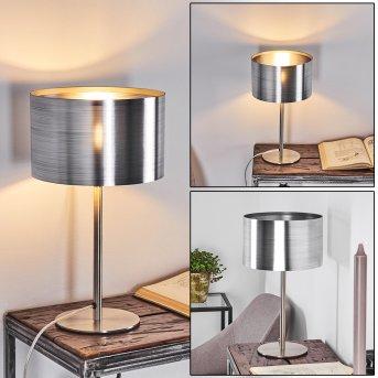 VOLOS Table lamp matt nickel, 1-light source