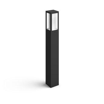 Philips HUE AMBIANCE WHITE & COLOR IMPRESS path light LED black, 1-light source, Colour changer