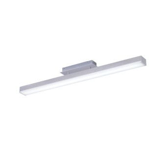 Ceiling Light Trio Leuchten WiZ LIVARO LED matt nickel, 1-light source, Remote control, Colour changer