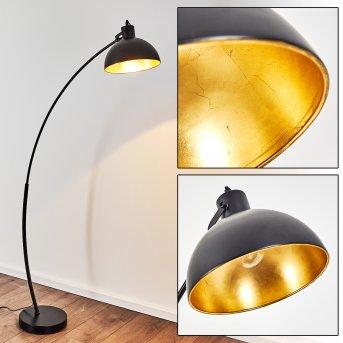 PAROLA Floor Lamp black, 1-light source