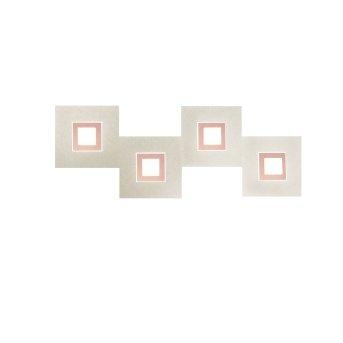 Grossmann KARREE Wall Light LED copper, 4-light sources