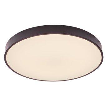 Ceiling Light Brilliant Slimline LED black, white, 1-light source