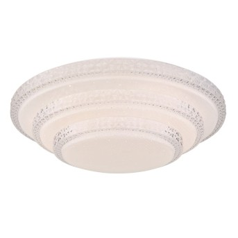 Ceiling Light Globo RITA LED white, 1-light source, Remote control