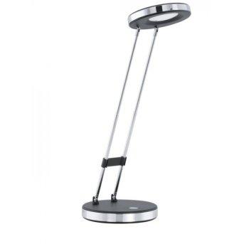 Eglo GEXO Table Lamp LED chrome, black, 1-light source