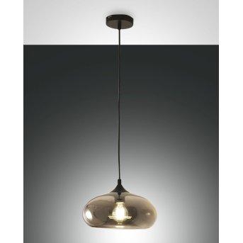 Fabas Luce ELA Pendant Light black, 1-light source
