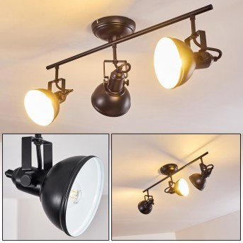 Tina Ceiling Light black, 3-light sources