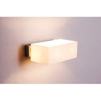 Ideallux BOX AP2 wall light chrome, 2-light sources