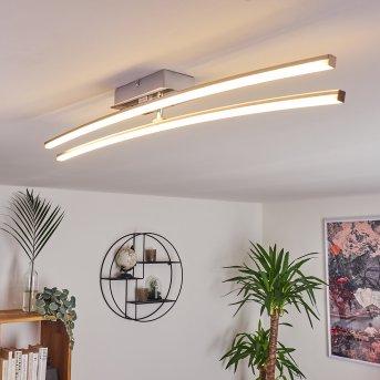 Georgina ceiling light LED chrome, 2-light sources