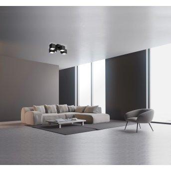 Grossmann ROCKS Ceiling Light LED black, 6-light sources