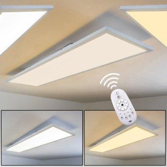Lerum Ceiling Light LED white, 1-light source, Remote control