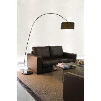 Faro Papua floor lamp black, 1-light source