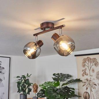 Arconciel Ceiling Light brown, 2-light sources