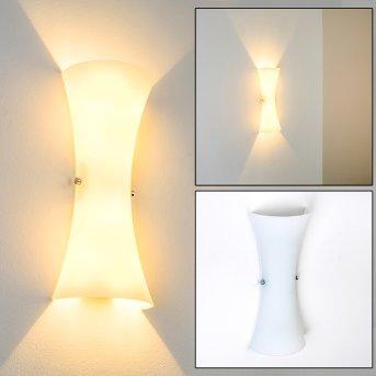 Zimbo Wall Light chrome, 2-light sources