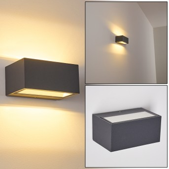 Outdoor Wall Light Spidern LED anthracite, 1-light source