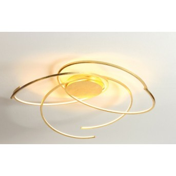 Escale SPACE ceiling light LED gold, 1-light source