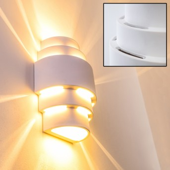 Handan wall light white, 1-light source