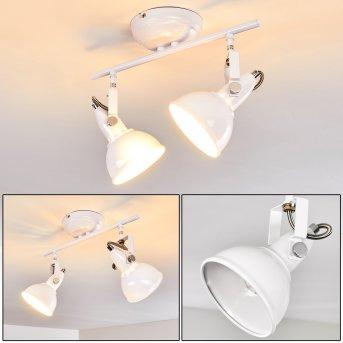 Tina Ceiling Light white, 2-light sources