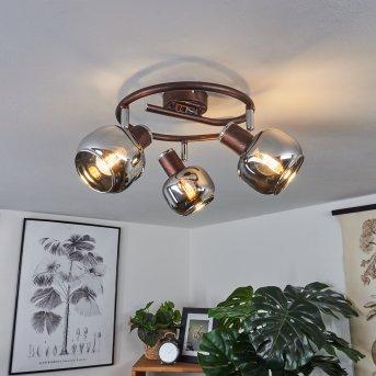 Arconciel Ceiling Light brown, 3-light sources