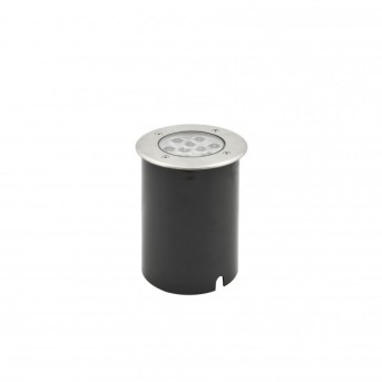 Konstsmide recessed ground light LED aluminium, 9-light sources