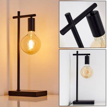 PAMUNKEY Table Lamp black, 1-light source