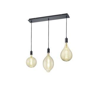 Trio Leuchten GINSTER Pendant Light LED black, 3-light sources