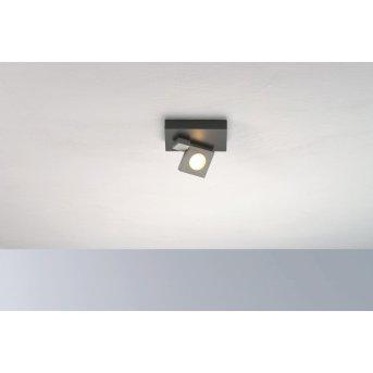 Bopp Flash Ceiling Light LED black, anthracite, 1-light source