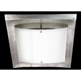 Fischer Shine Alu ceiling light LED matt nickel, 1-light source