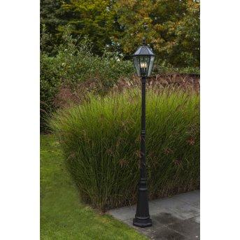 Lutec LONDON Path light LED black, 3-light sources