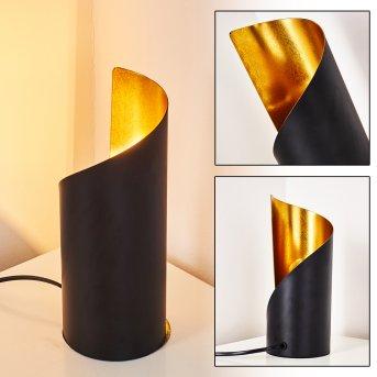 YAHUMA Table Lamp black-gold, 1-light source