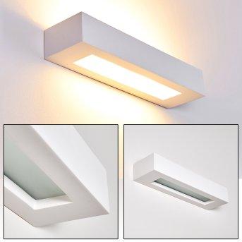 PAGLIA Wall Light white, 2-light sources