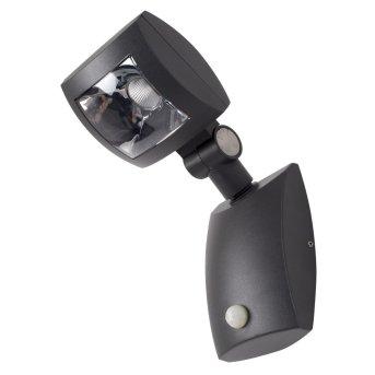 KS Verlichting Inspector Wall Light LED black, 1-light source, Motion sensor