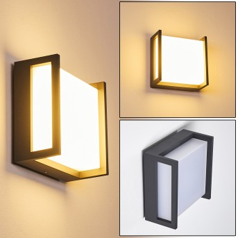 SKOVE Outdoor Wall Light LED anthracite, 1-light source